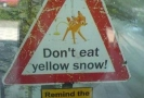 Do Not Eat Yellow Snow