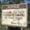 Do Not Throw Stones