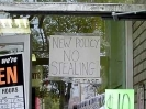 New Policy No Stealing